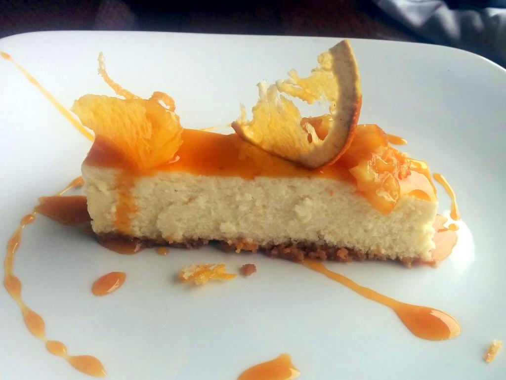 Orange Grand Marnier Cheesecake