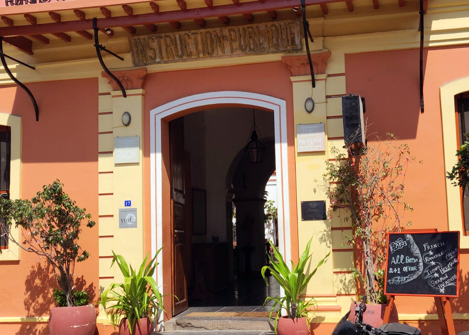 Fascinating taste of Pondicherry creole cuisine! - Review - Gurgaon